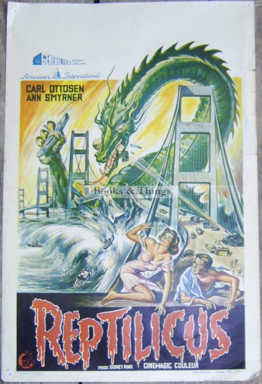 reptilicus-film-poster
