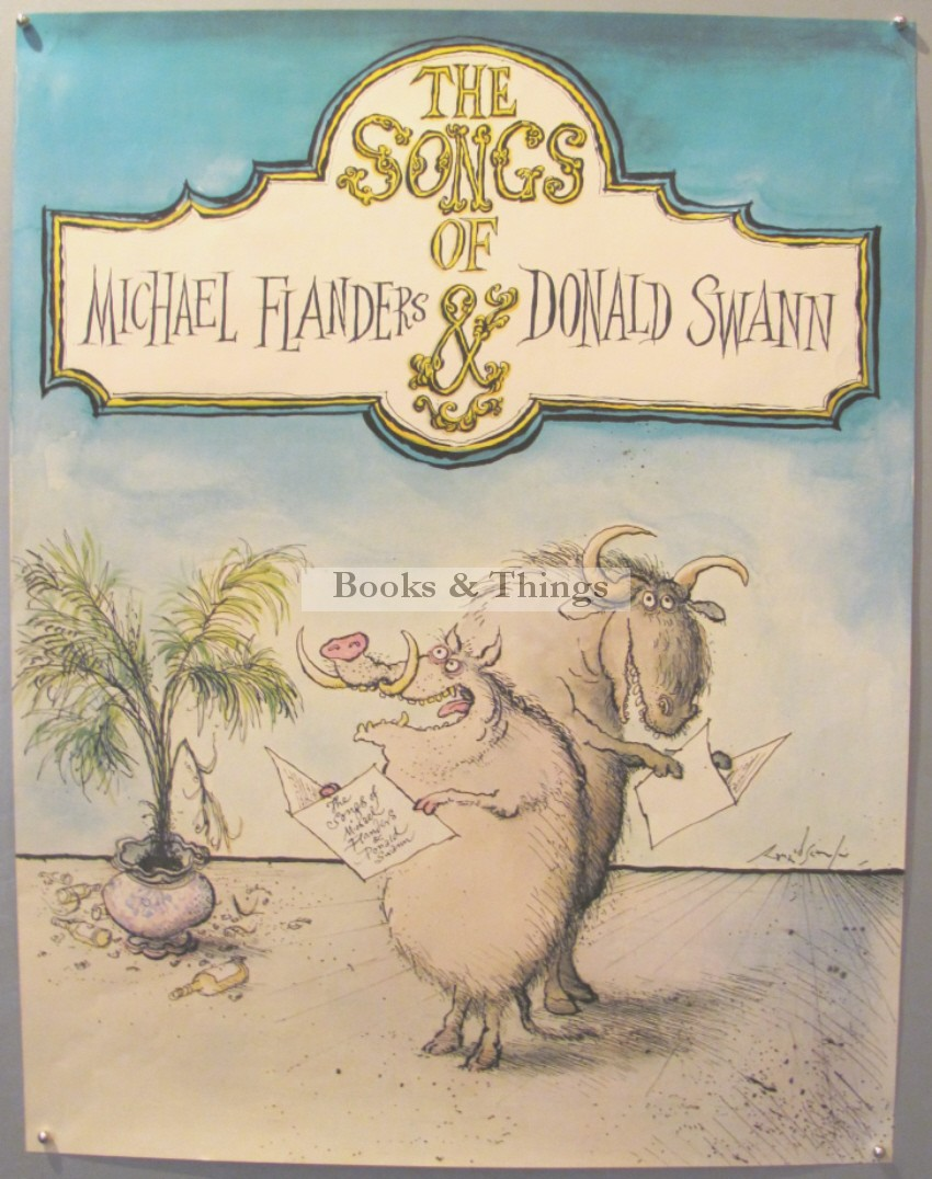 ronald-searle-poster-flanders-swann