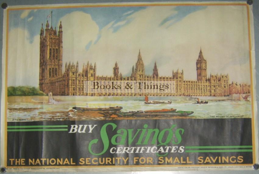 S.T.C. Weeks poster Savings Certificates