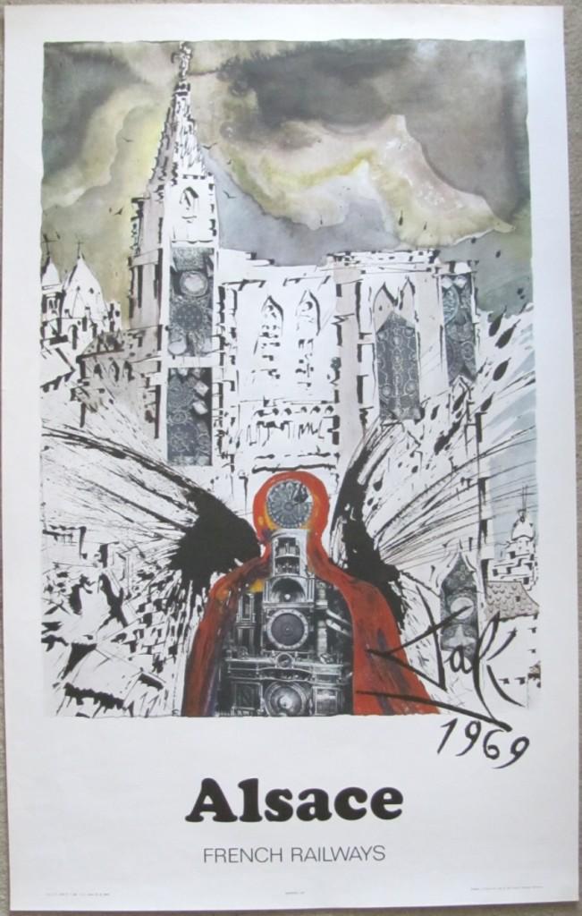 Salvador Dali poster Alsace