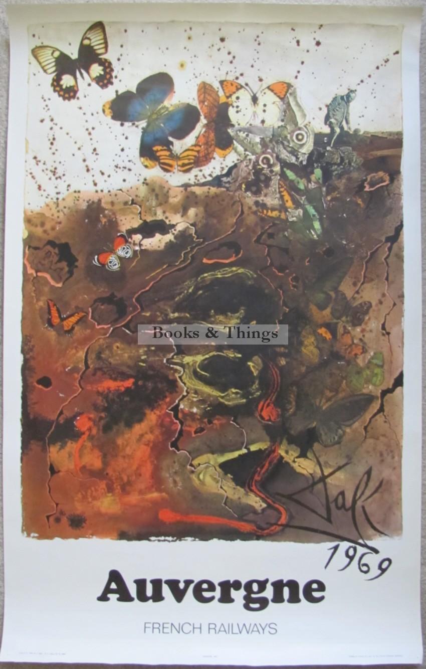 Salvador Dali poster Auvergne