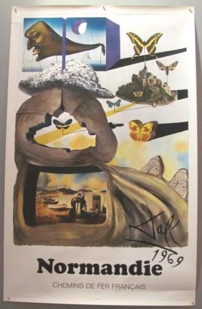 Salvador Dali poster Normandie