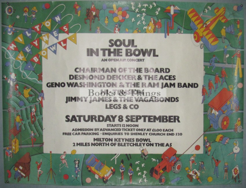 Soul in the Bowl poster 1979
