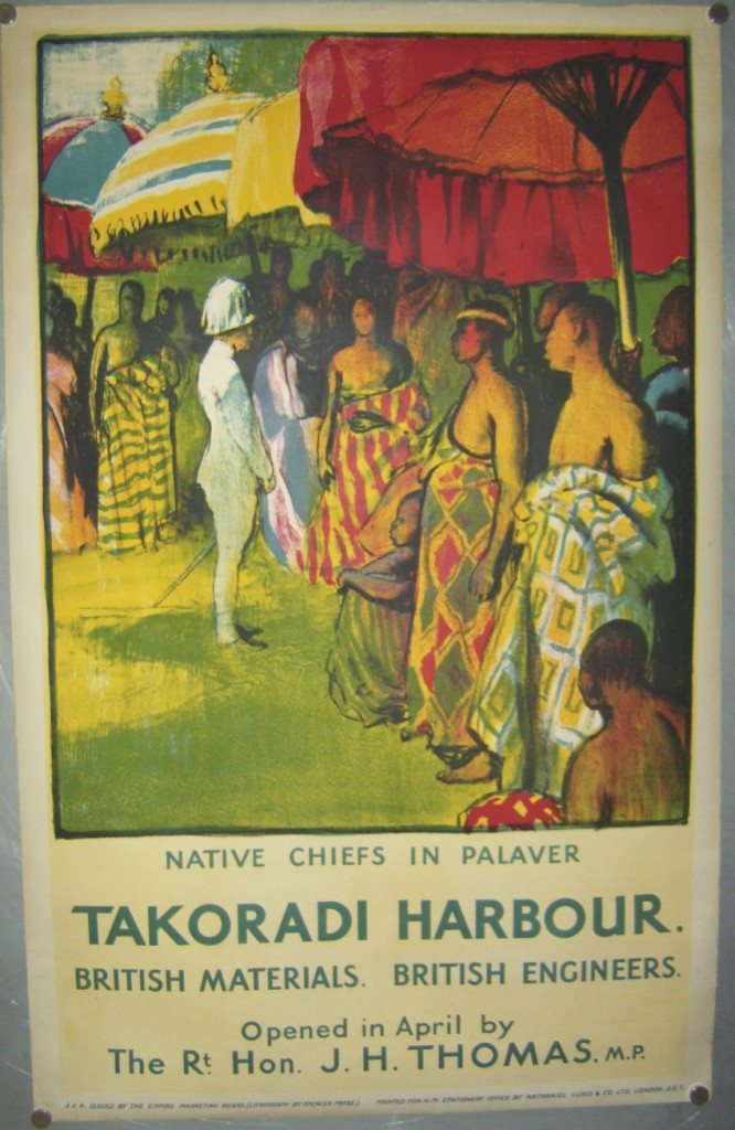 Spencer Pryse poster Takoradi Harbour
