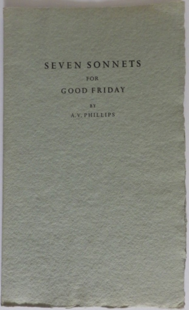 Stanbrook Abbey Press Seven Sonnets