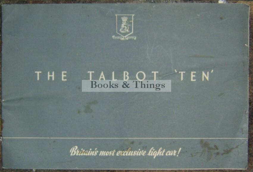 Talbot Ten brochure