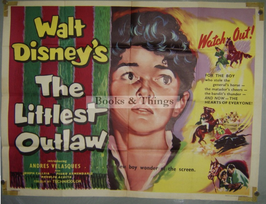 The Littlest Outlaw poster
