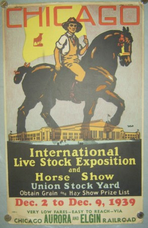 Tolson Chicago Live Stock Exposition poster