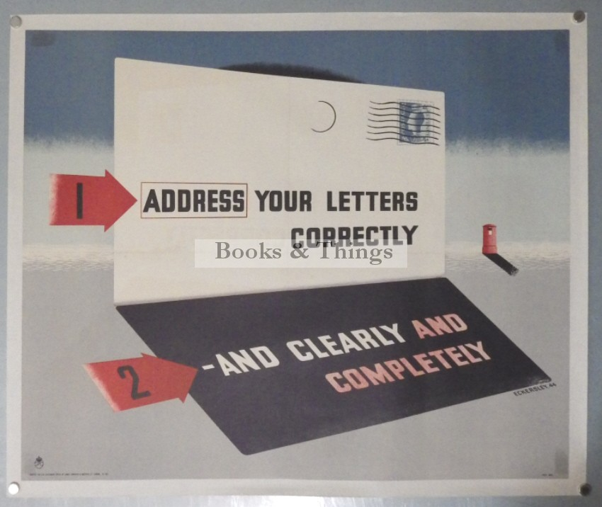 tom-eckersley-poster-address-your-letters-correctly