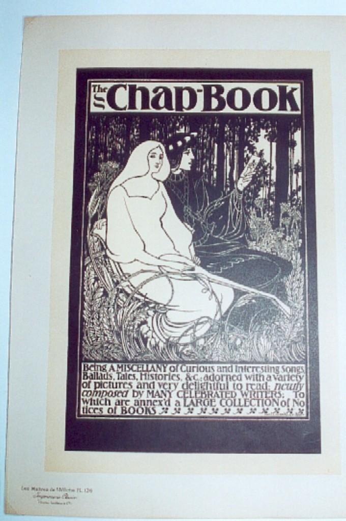 will-bradley-chap-book-lithograph-maitres-de-laffiche