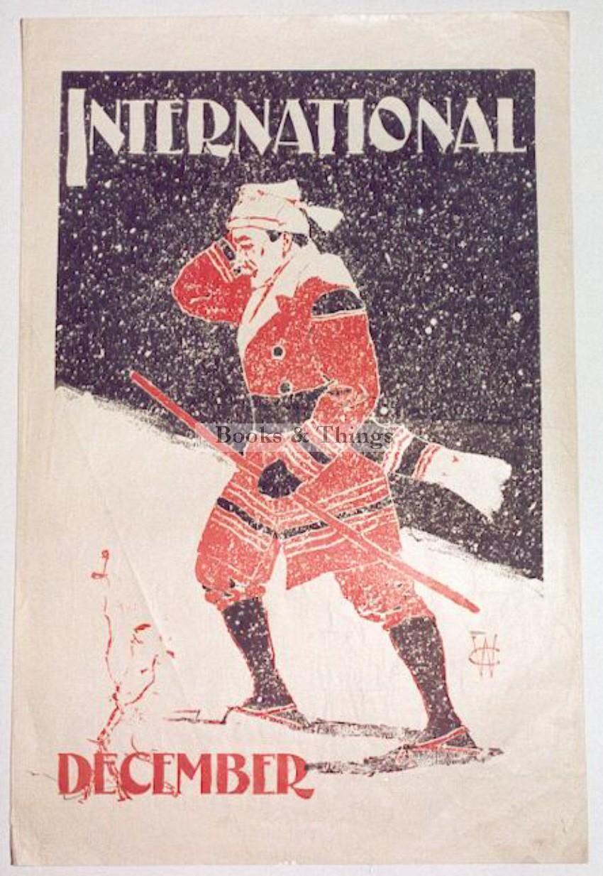 Will Carqueville poster International Magazine
