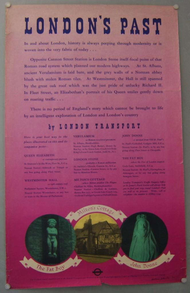 William Johnson poster London's past