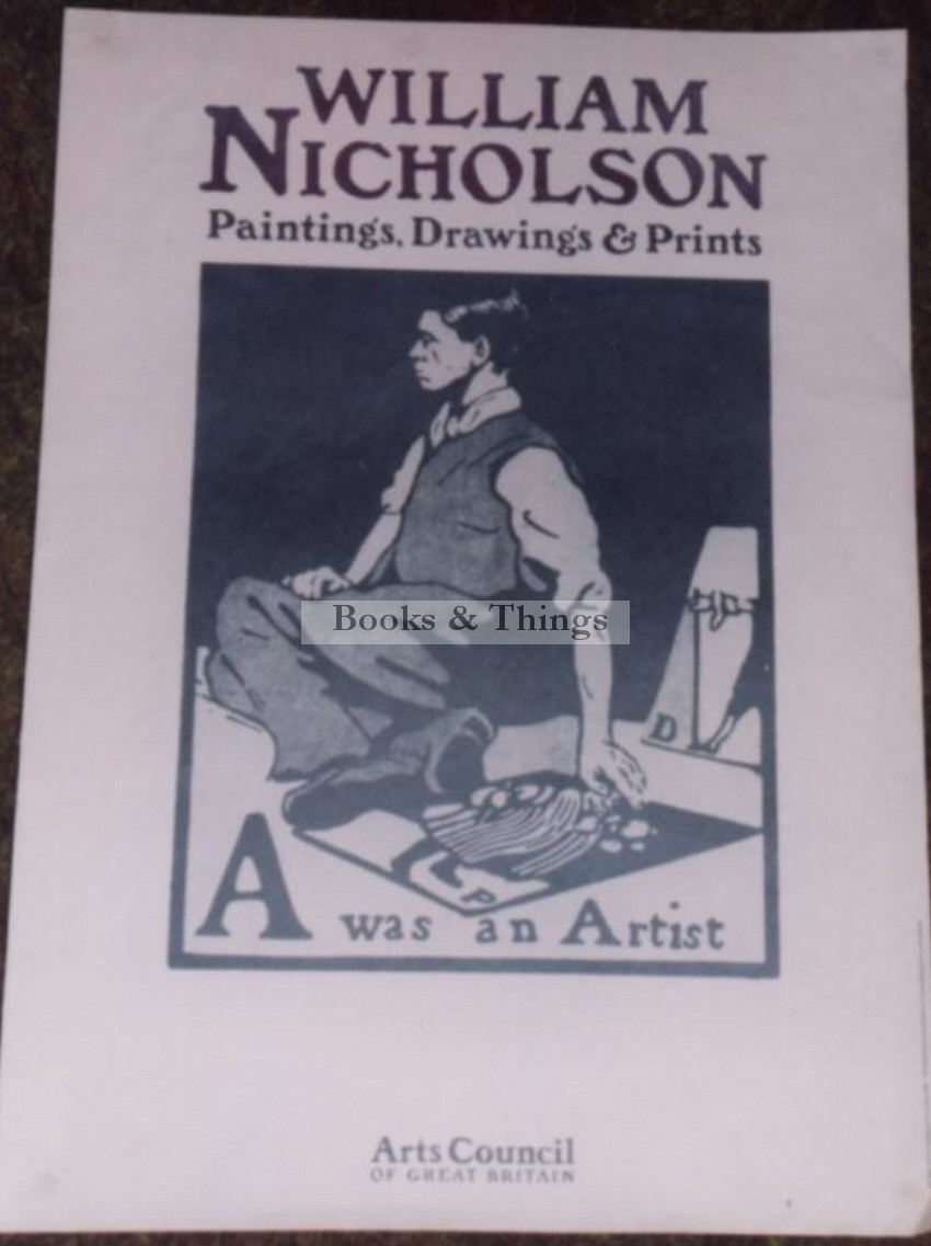 William Nicholson Arts Council  poster