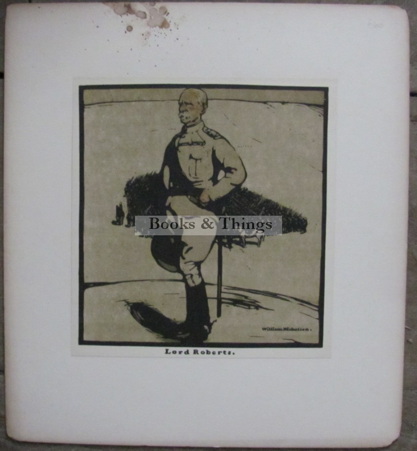 William Nicholson lithograph Lord Roberts