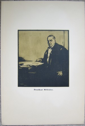 William Nicholson lithograph President McKinley