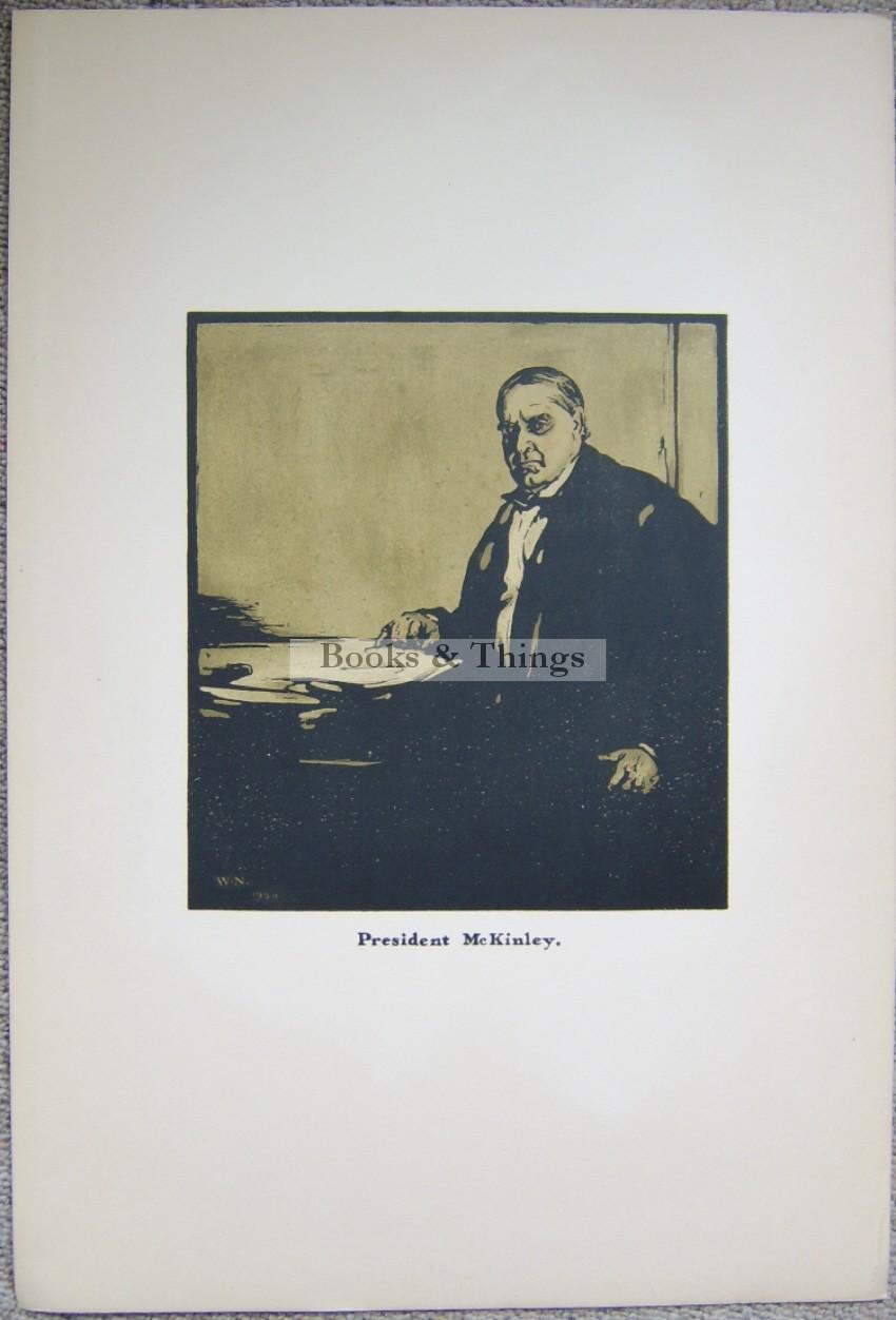 William Nicholson lithograph President McKinley