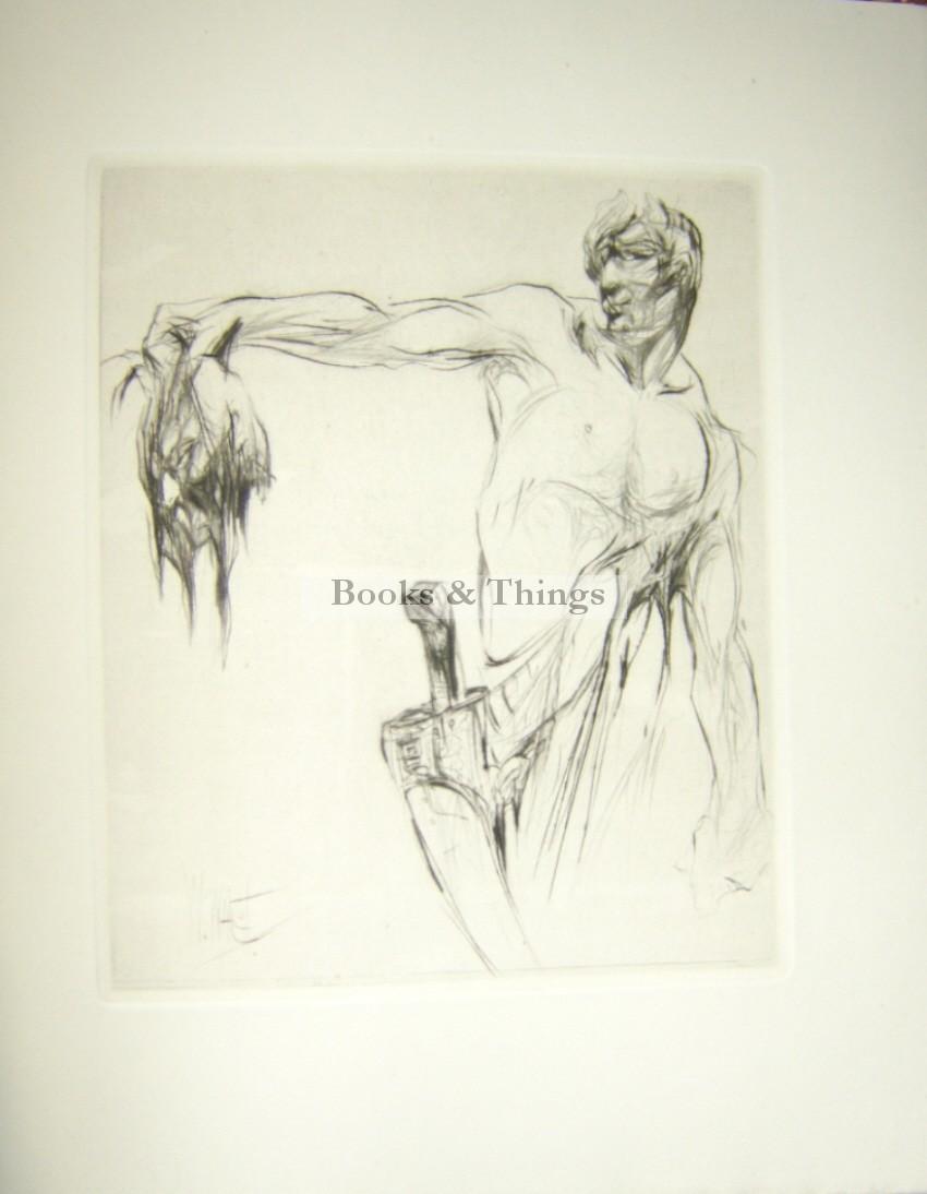 William Walcot etchings Herodias