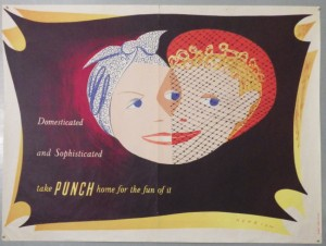 henrion poster for Punch