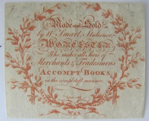 Stationers label