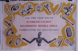 Shell oil poster
