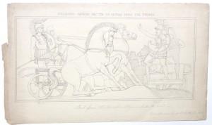 After John Flaxman drawing Polydamus advising Hector