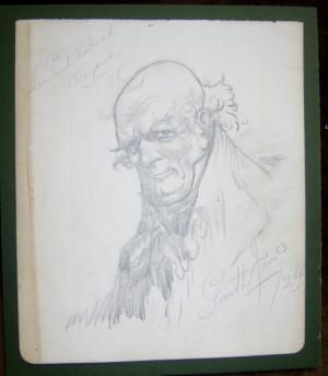 Alfred garth Jones drawing