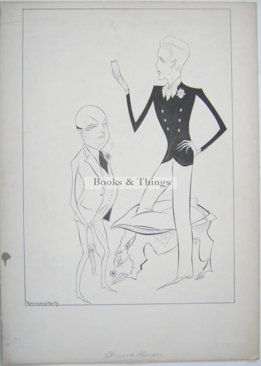 Beresford Egan drawing Cyprian Masques