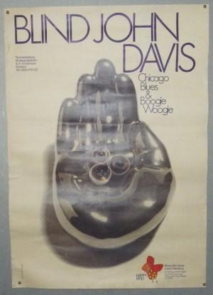 Blind John Davis poster