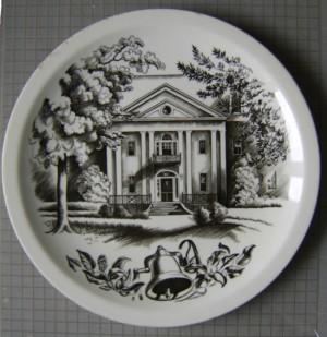 Clare Leighton Wedgwood plate Bennett College