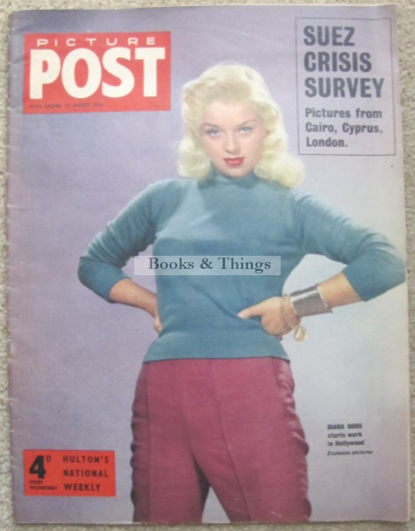 Diana Dors cover Picture Post