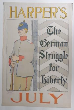 Edward Penfield Harper's Magazine poster