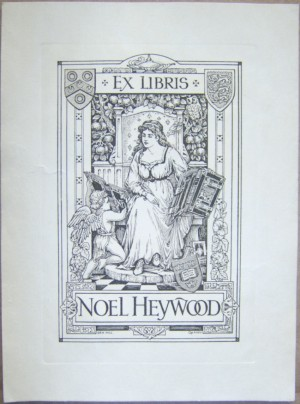 Ern Hill bookplate