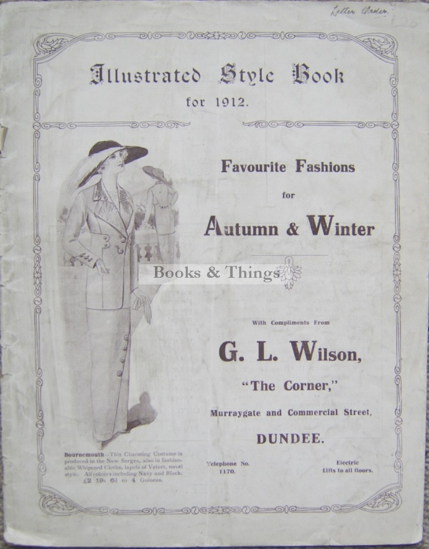 Fashion Style Book 1912