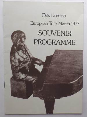Fats Domino European Tour programme