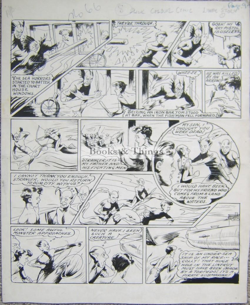 Gerald G Swan comic artwork4