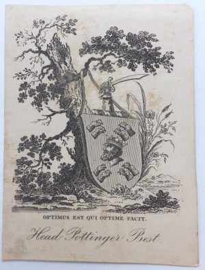 Head Pottinger Best bookplate