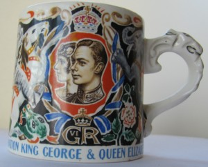 Laura Knight Coronation mug
