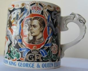 Laura Knight Coronation mug