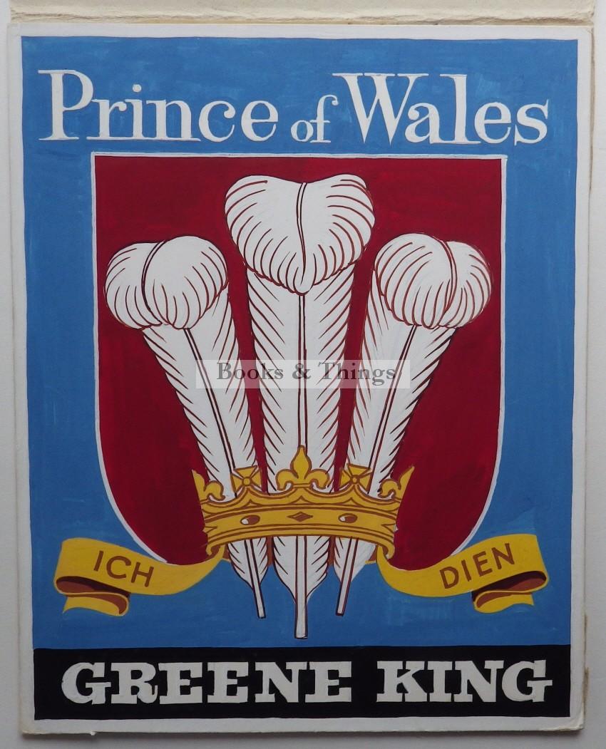 Leon Crossley March inn sign artwork