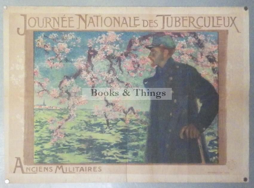 Lucien Levy-Dhurmer poster Journee Nationale des Tuberculeux