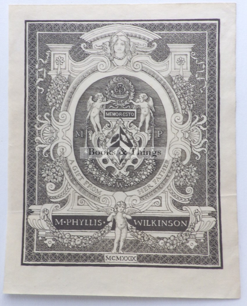 M. Phyllis Wilkinson bookplate