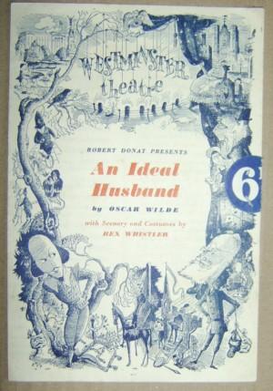 Oscar Wilde An Ideal Husband programme