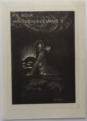 Sidney H Sime bookplate