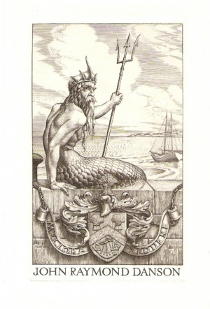 Stephen Gooden bookplate