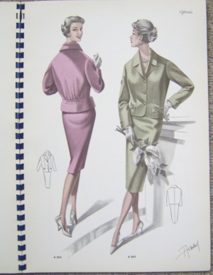 Tailleur Special French fashion booklet