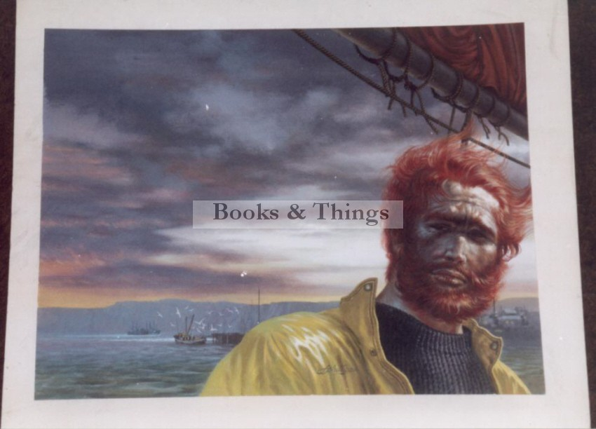 W. Francis Phillipps artwork Fisherman
