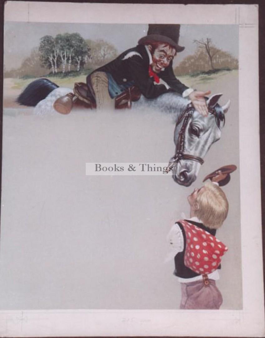 W. Francis Phillipps artwork Huckleberry Finn