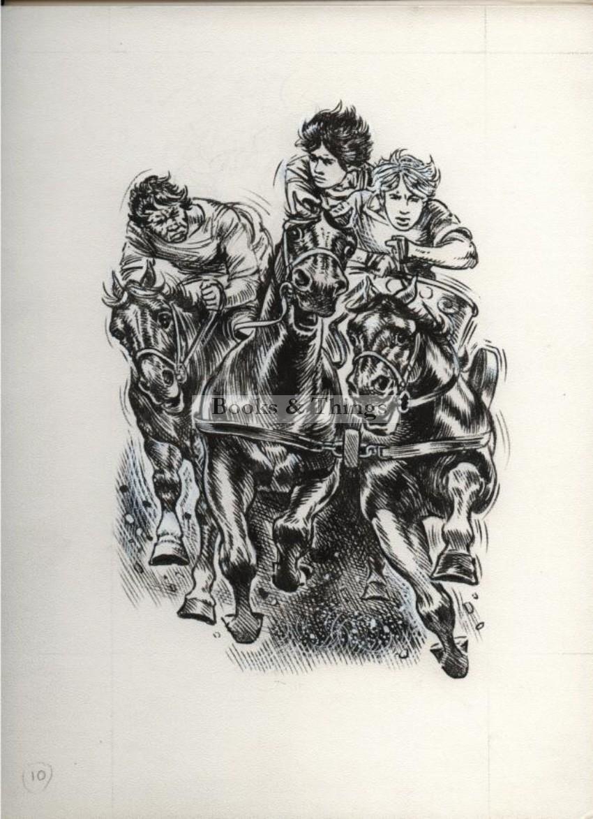 W. Francis Phillipps artwork Neck & neck