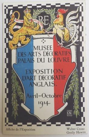 Walter Crane postcard