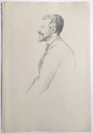 William Rothenstein lithograph R